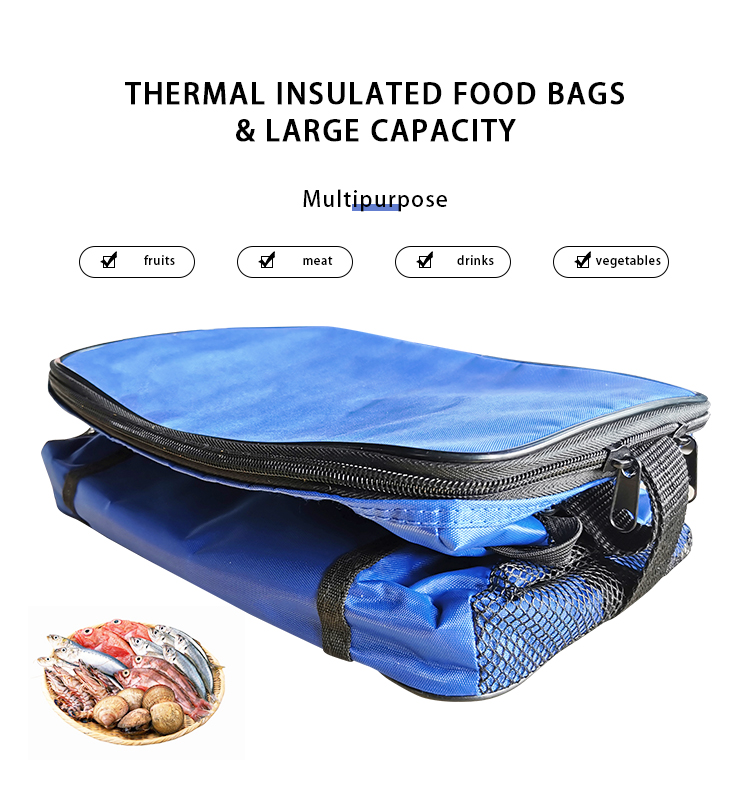 A bag used for outdoor picnics or daily life to hold a variety of foods and keep them warm and fresh.