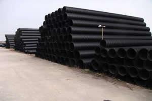 聚乙烯塑钢缠绕排水管2