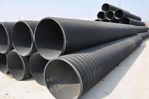 聚乙烯塑钢缠绕排水管3