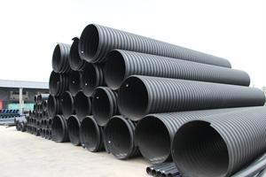 钢带增强聚乙烯螺旋波纹管1