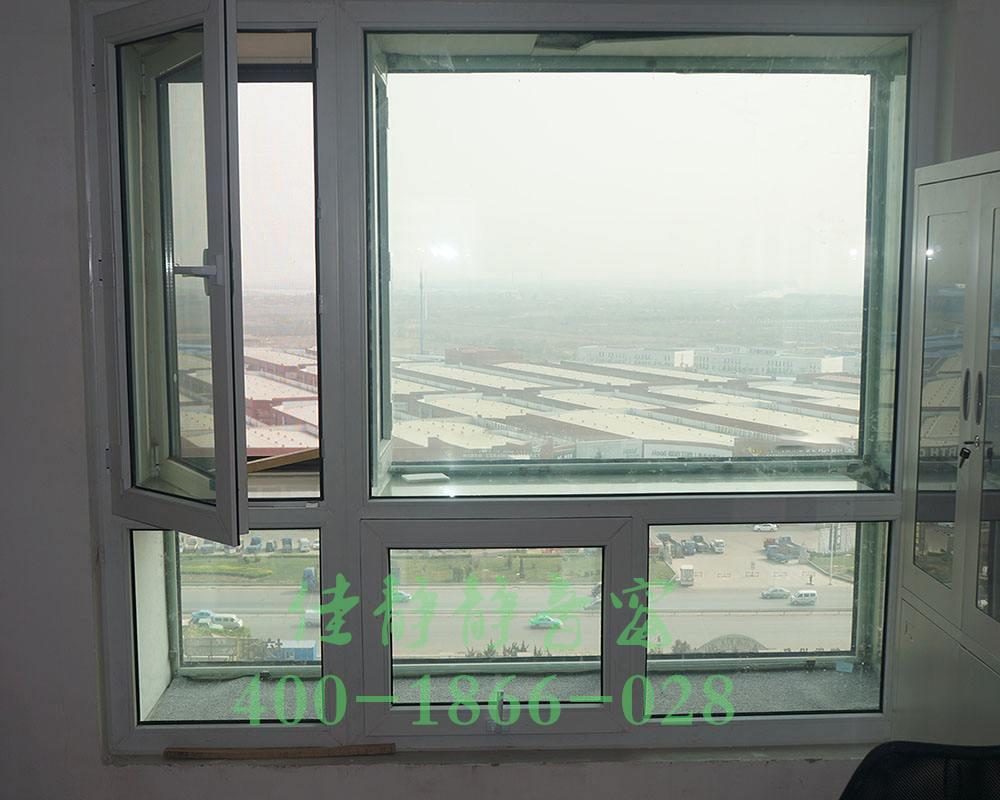 靜音窗安裝實例效果圖
