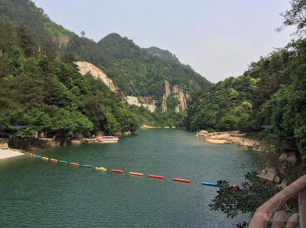 臨安龍井峽漂流基地14