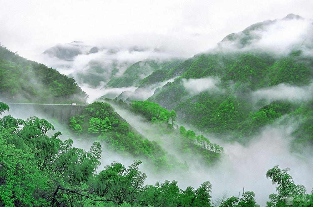 安吉仙龍峽漂流基地14