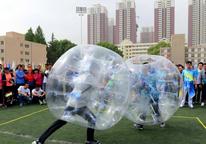 趣味運動會-碰碰球1