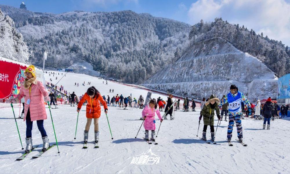 大明山滑雪02