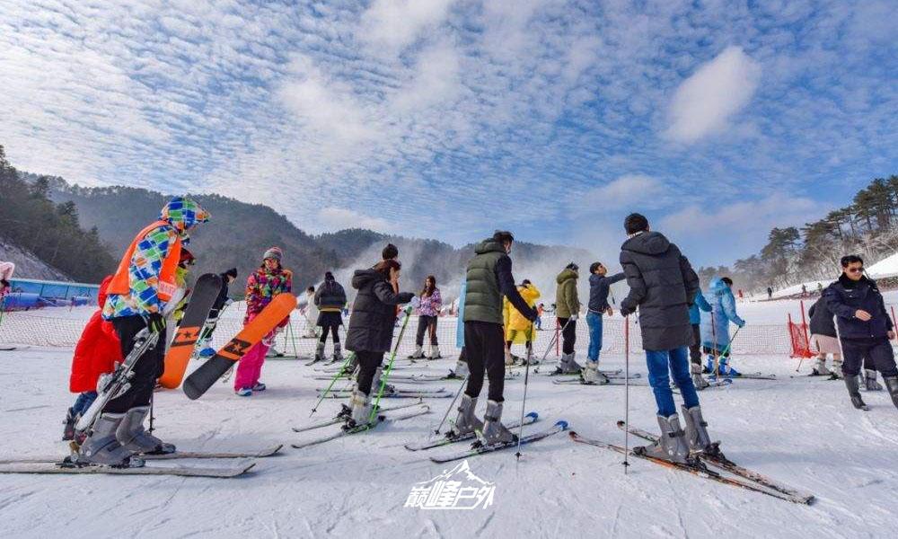 大明山滑雪03