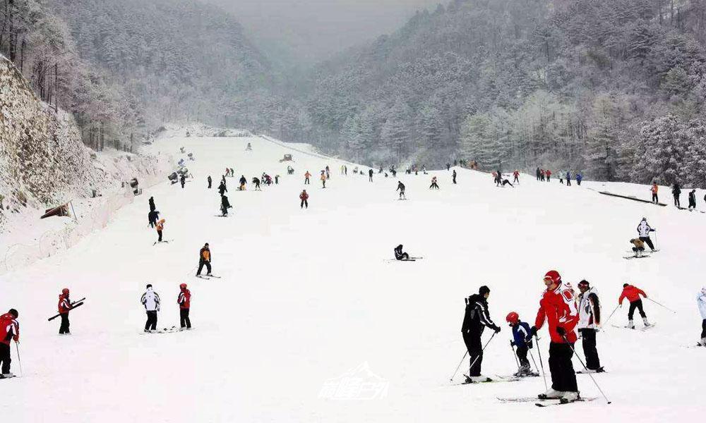 大明山滑雪04