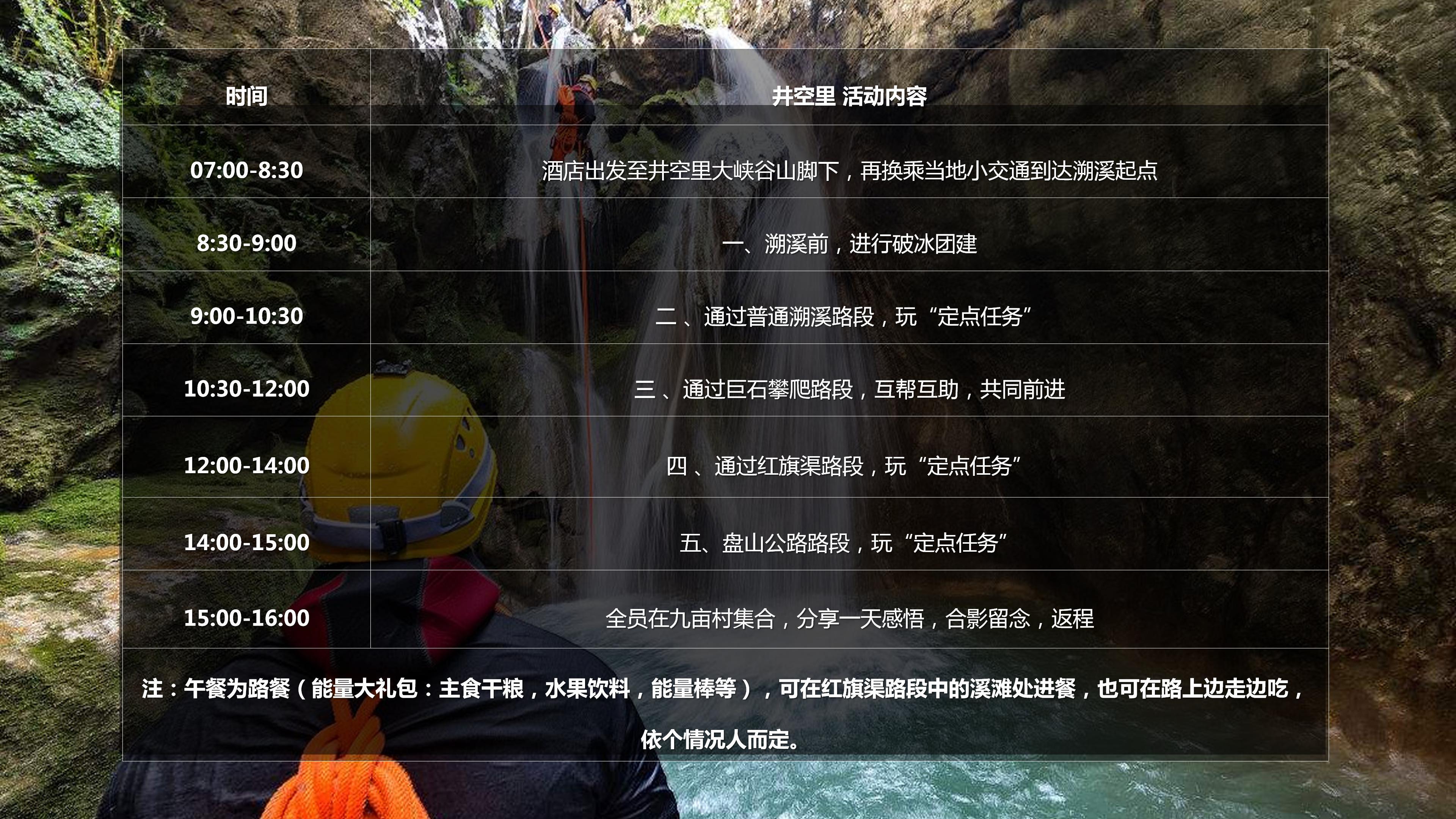 蓉蓉—井空里溯溪活动方案_10