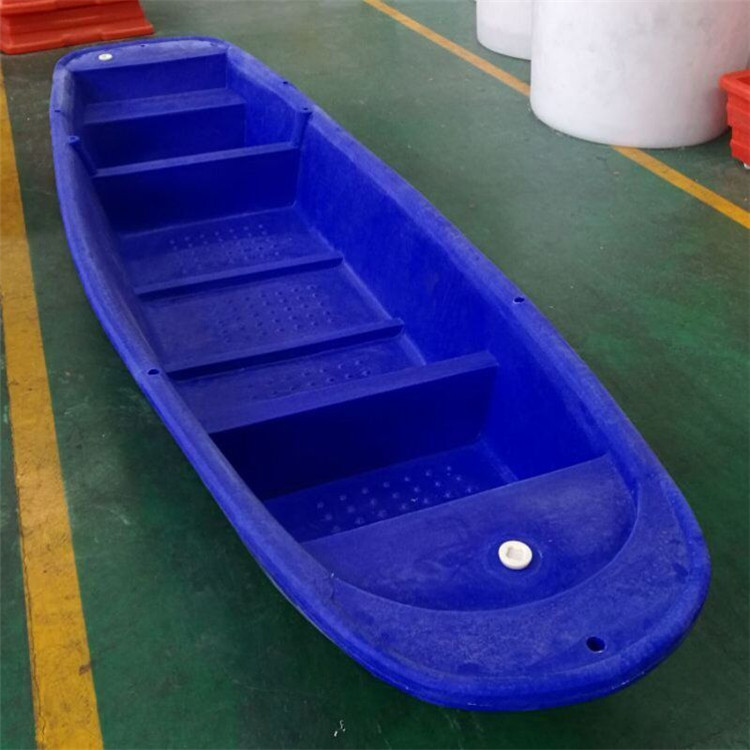 塑料漁船塑料小船河道清理船