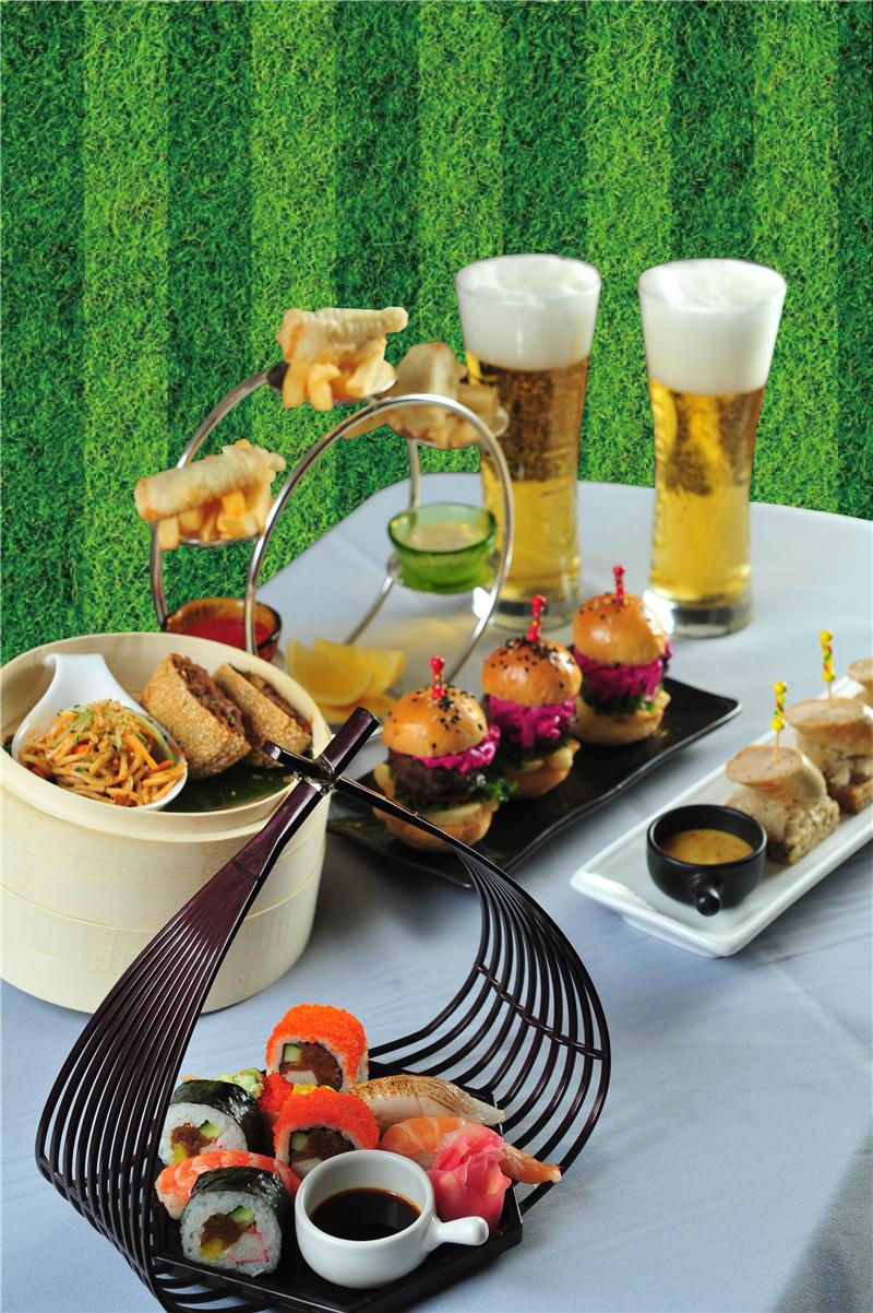 北京王府井希尔顿酒店的世界杯叶子芥末腌美食资讯图片