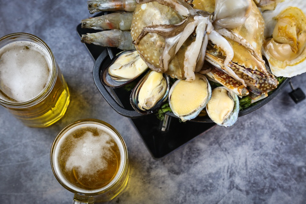酸辣海鲜锅盛筵啤酒套餐SeafoodHotpotandDraftBeer-2