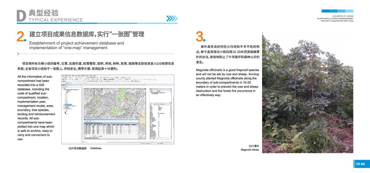 法国开发署贷款湖南森林可持续经营项目画册32