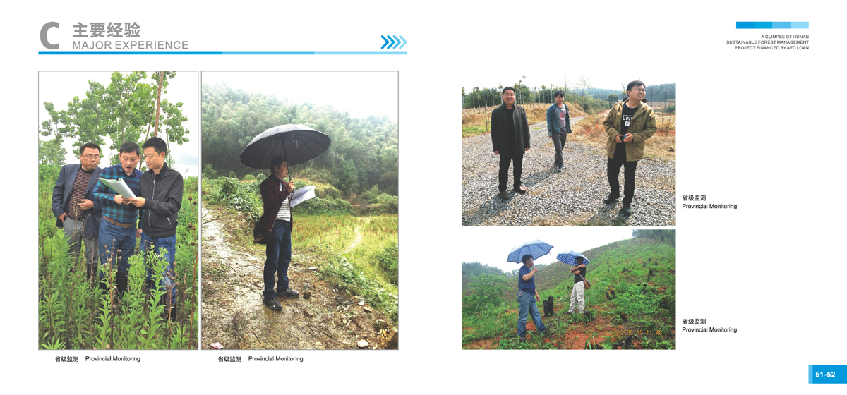 法国开发署贷款湖南森林可持续经营项目画册28