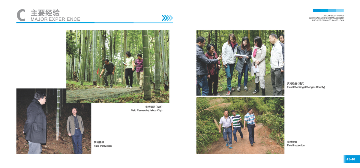 法国开发署贷款湖南森林可持续经营项目画册25