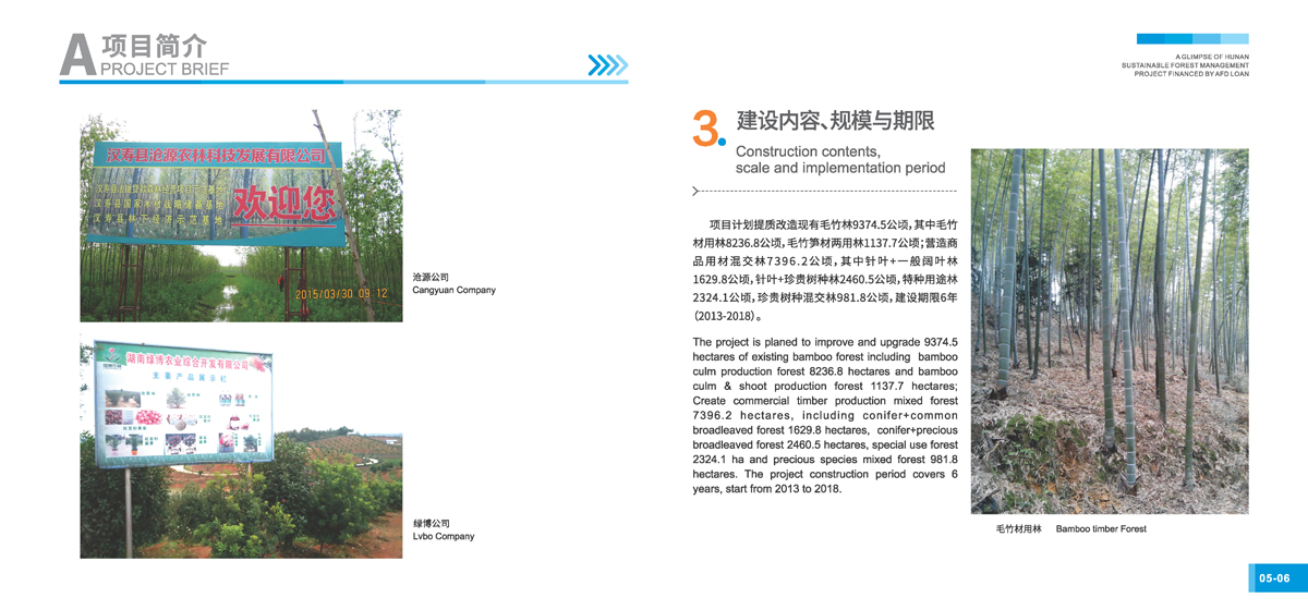 法国开发署贷款湖南森林可持续经营项目画册5