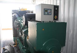 500KW沃尔沃1651发电机组整机成撬-3