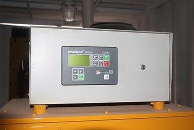 自主研发的发电机组控制系统