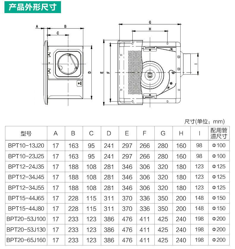 綠島風全金屬管道式換氣扇-9