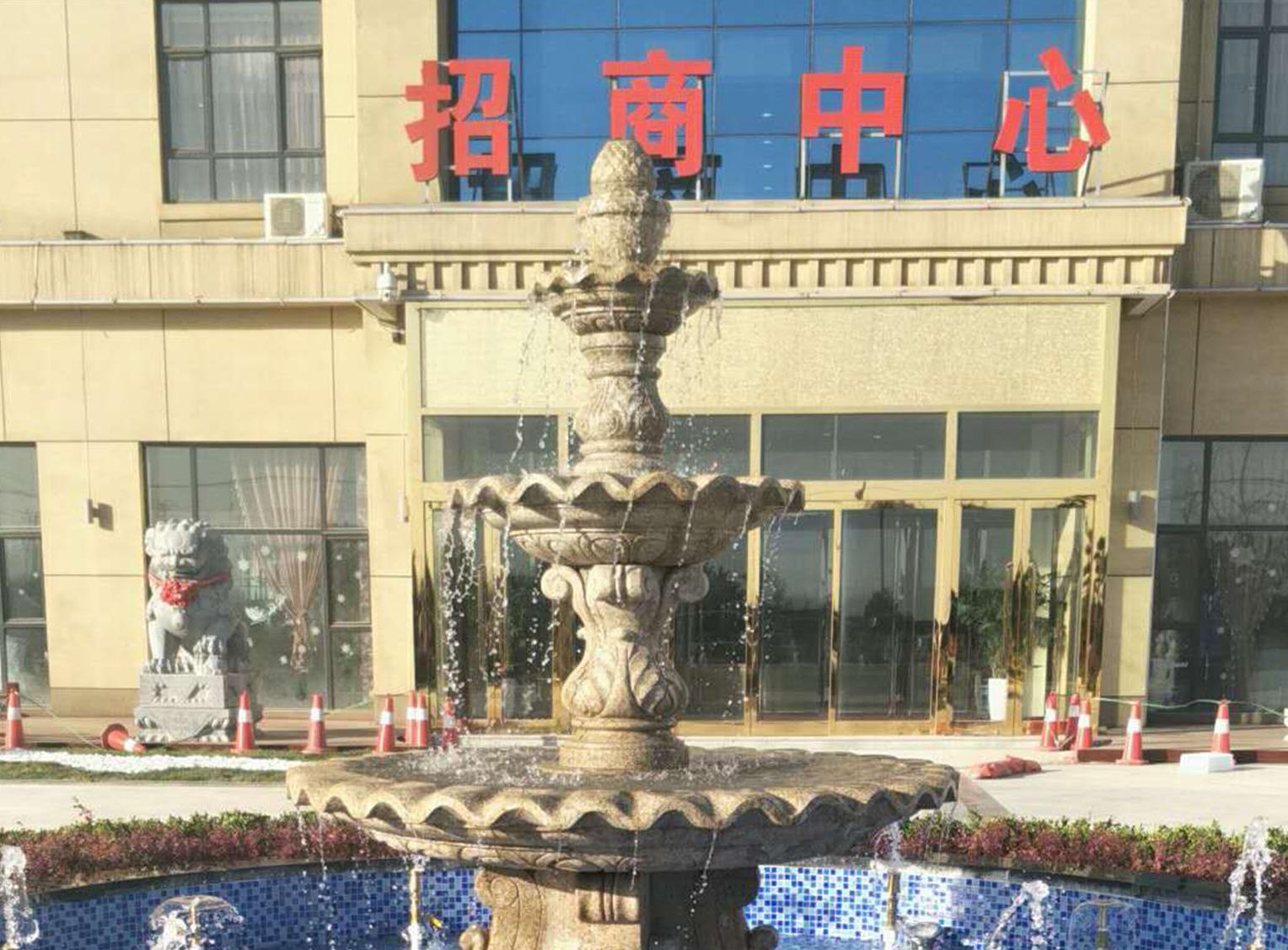 华北汽车公元售楼部景观-三