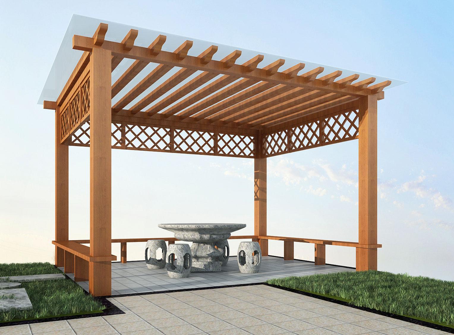 庭院设计景观施工-七