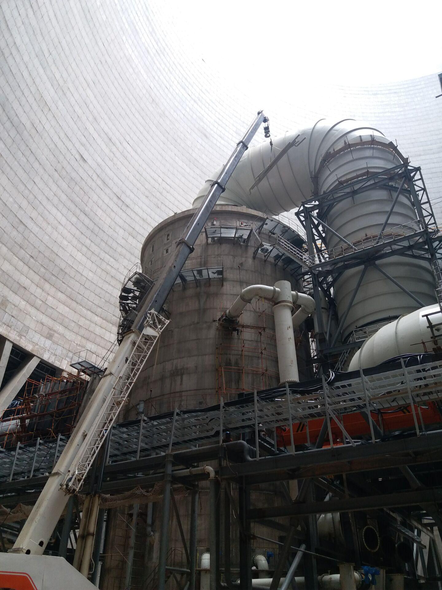 神華國華寧東發電廠2×660MW機組擴建工程煙氣脫硫島總承包-EPC工程安裝工程