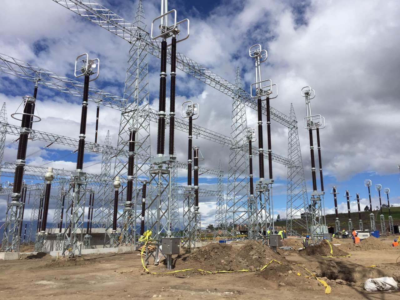 厄瓜多爾變電站安裝工程