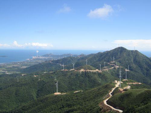 山東威海苘山風力發電48MW項目