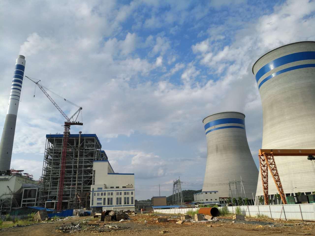 粵華韶關2×350MW發電項目2號機組安裝項目