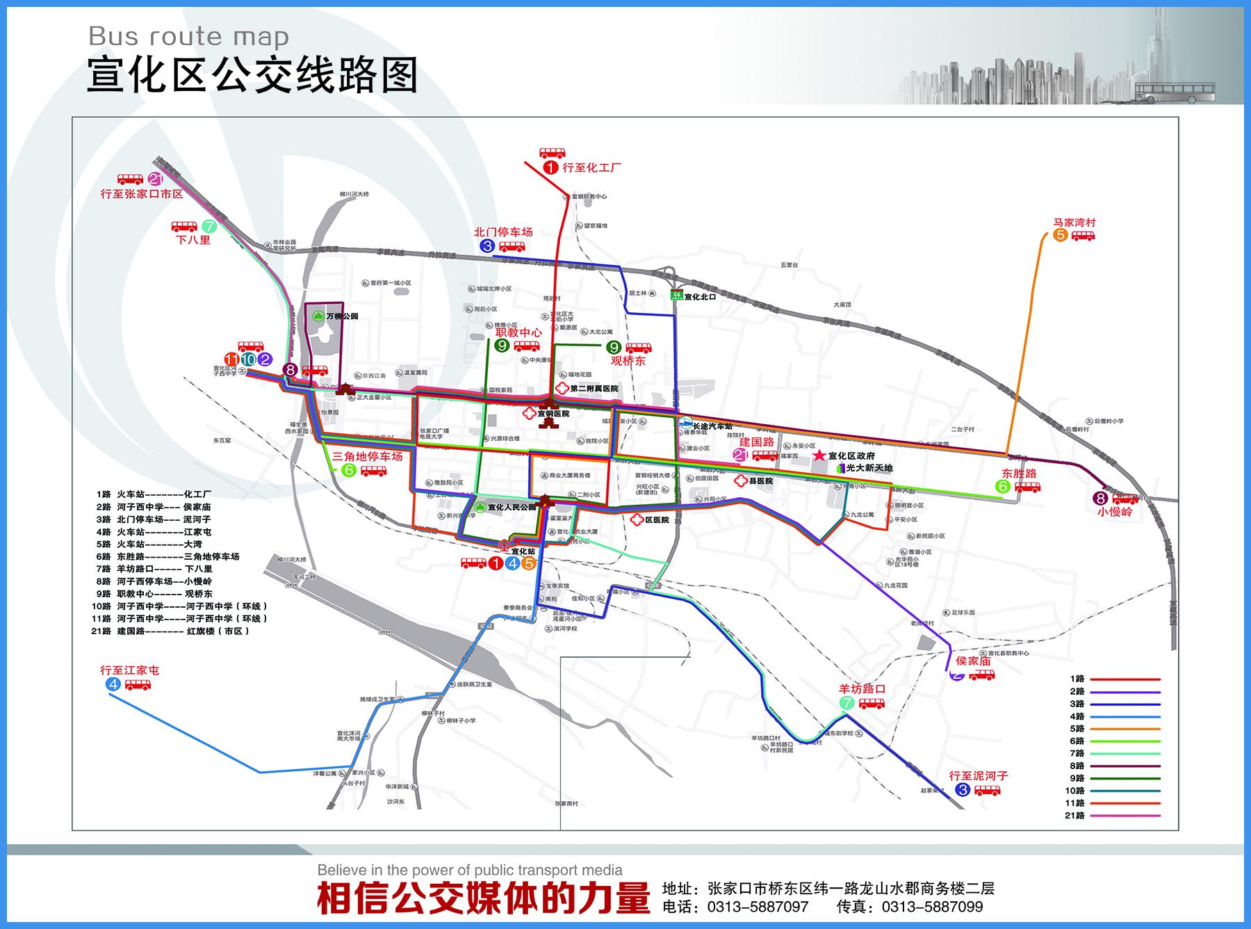 3-公交线路图