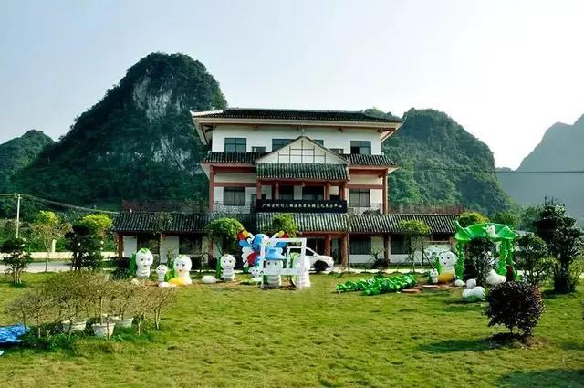 四星级桑蚕基地示范区-刘三姐生态高效桑蚕示范区-桑蚕茧丝绸文化展示中心