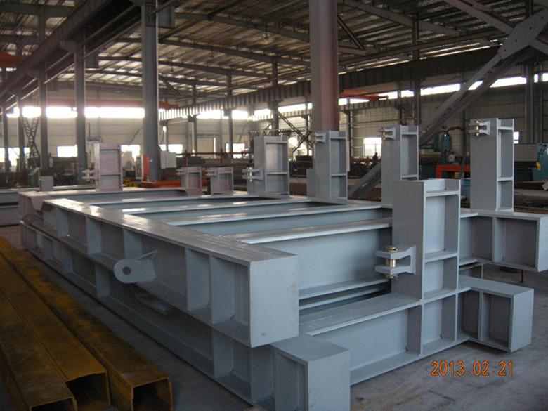 出口鍋爐鋼結構