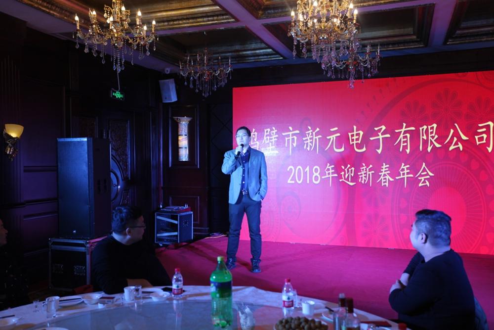 鶴壁市新元電子有限公司2018新春年會1