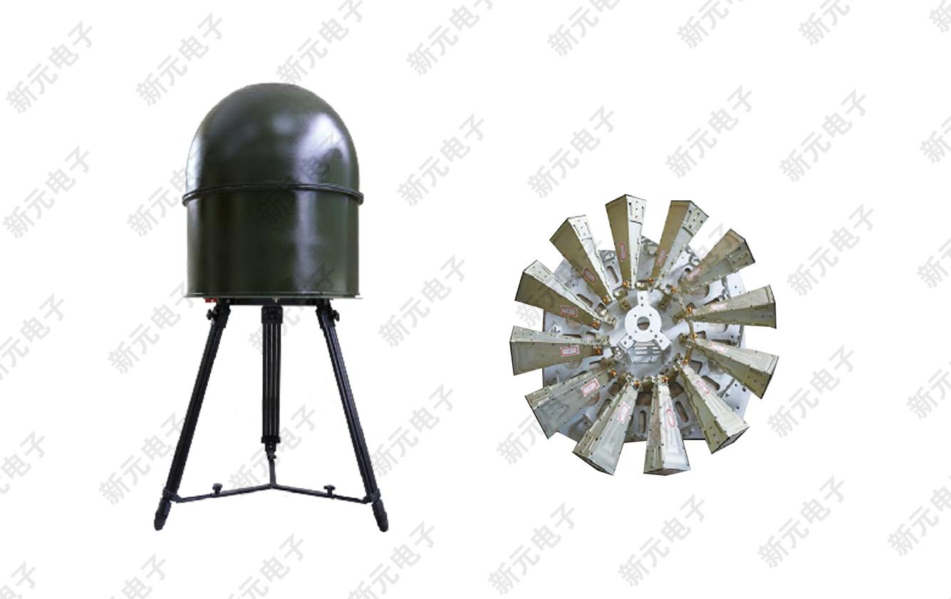 便攜式雷達信號偵察設備