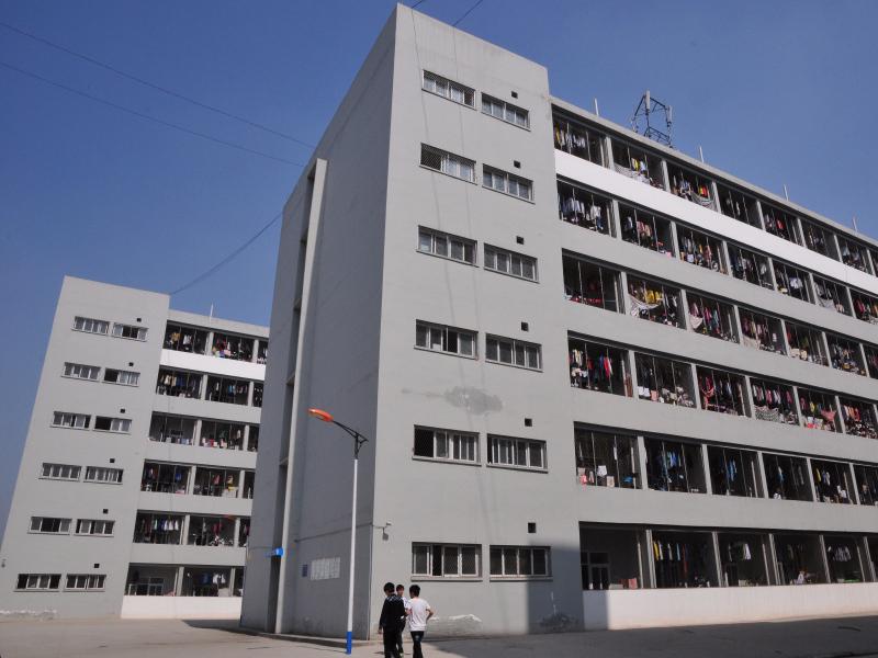 南充技师学院学校宿舍