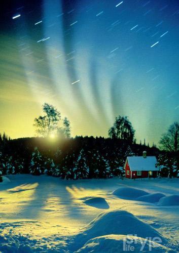 去北欧感受冰火圣诞(组图)