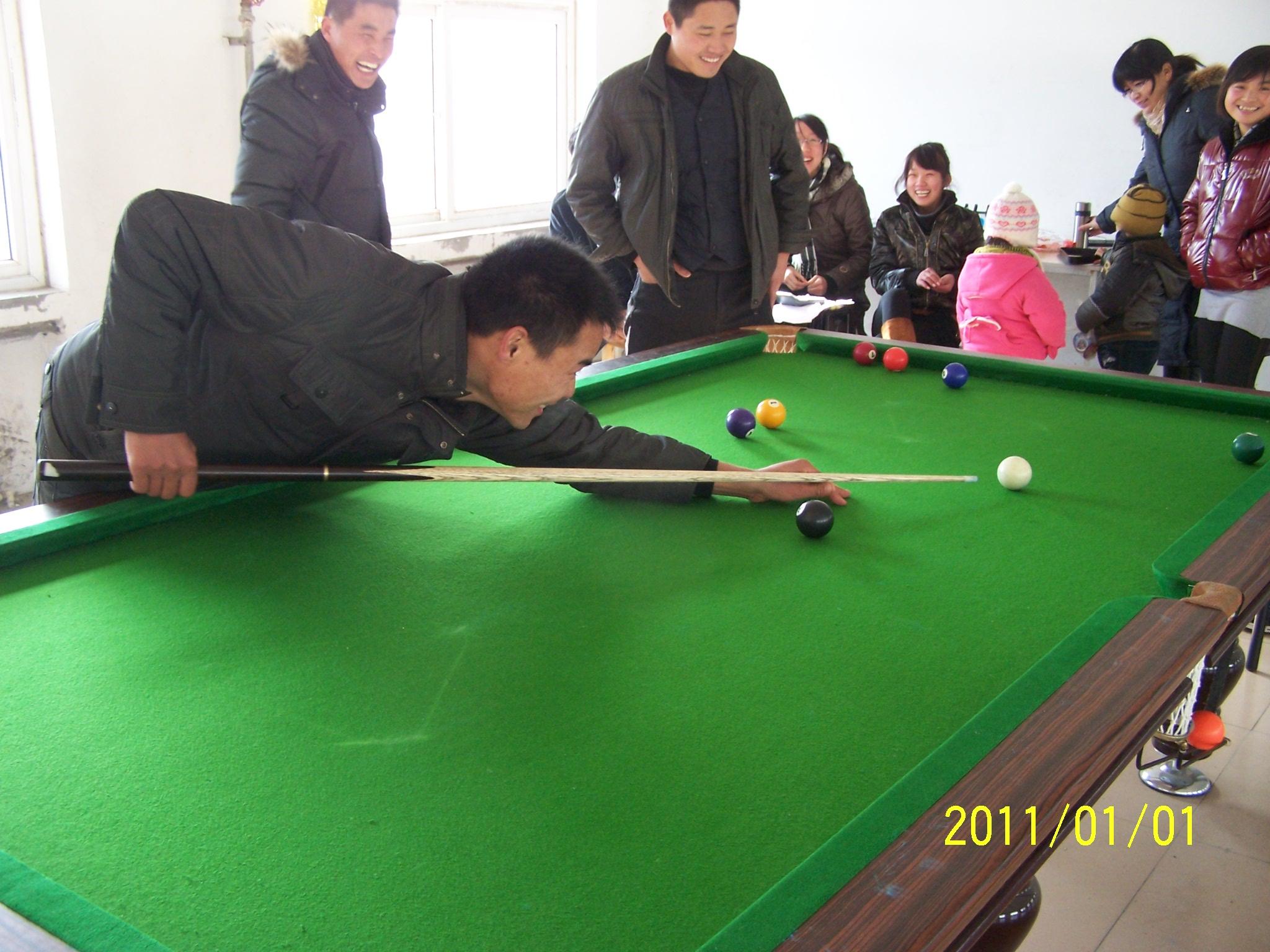 2009海阳企业台球比赛