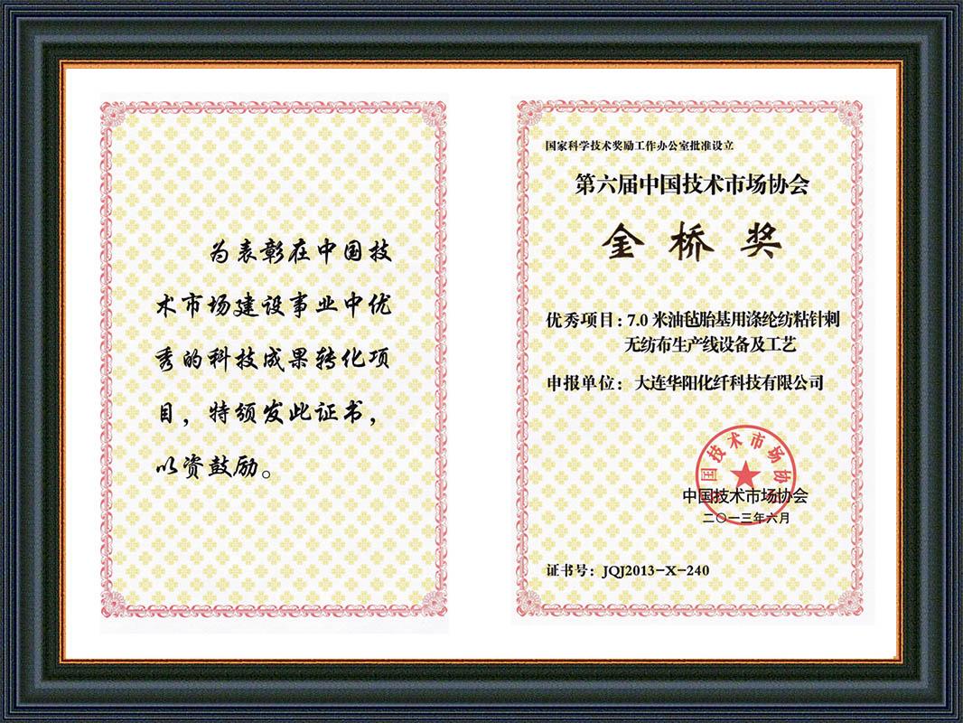 09-2013金橋獎證書1