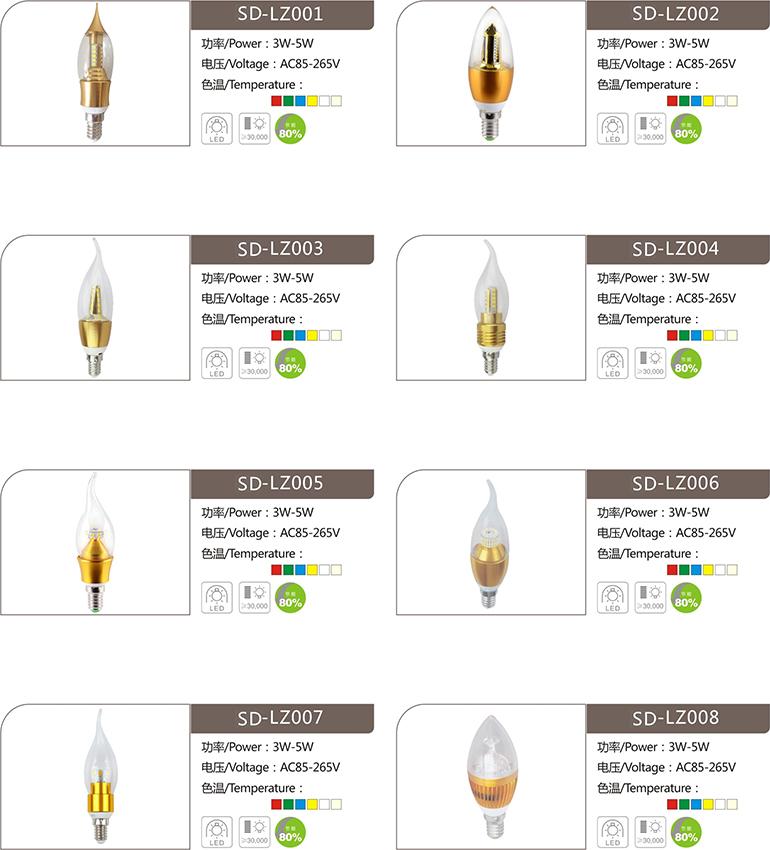 速杜LED蠟燭燈
