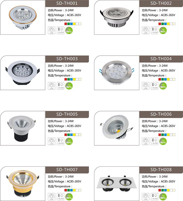 速杜LED天花燈