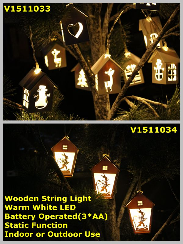 WoodenStringLight