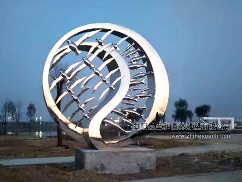 不锈钢雕塑-1001