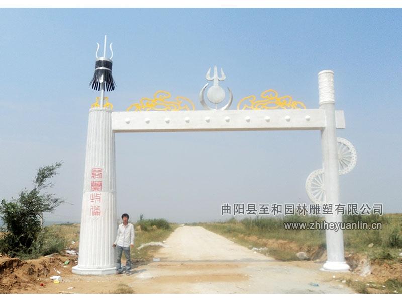 內蒙古清水河-石牌樓-工程-1001