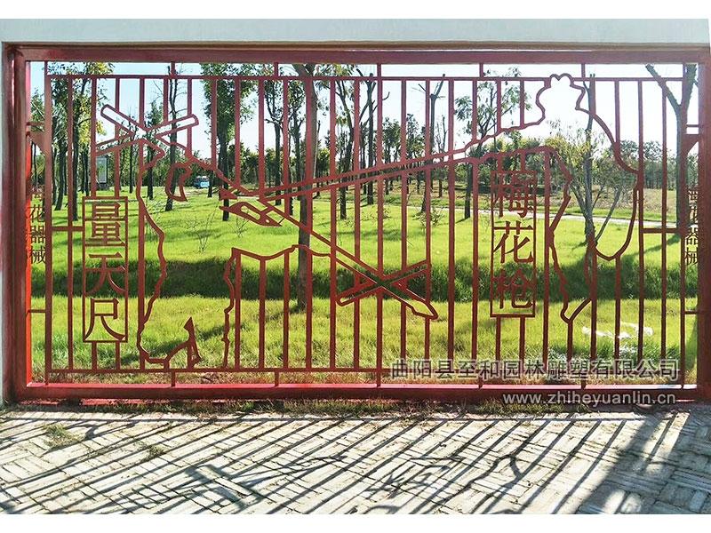 山东菏泽-不锈钢雕塑-工程案例-1004