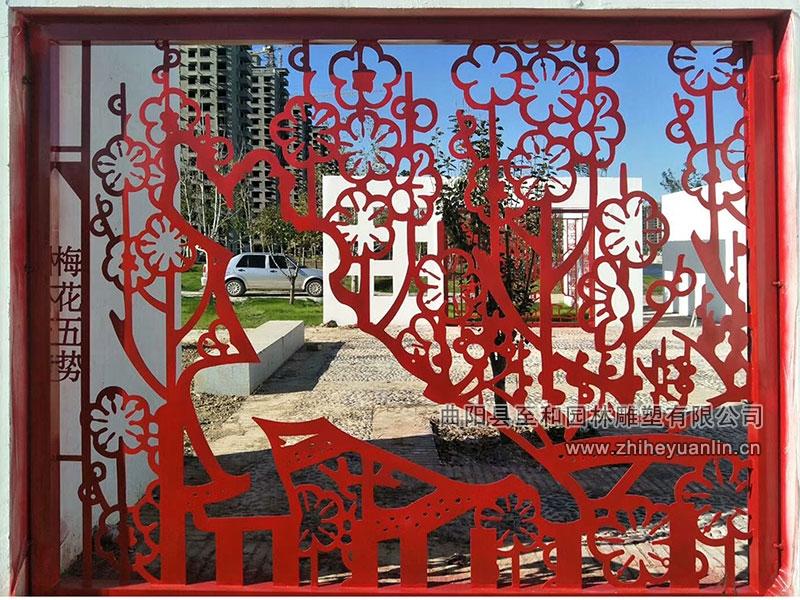 山东菏泽-不锈钢雕塑-工程案例-1005