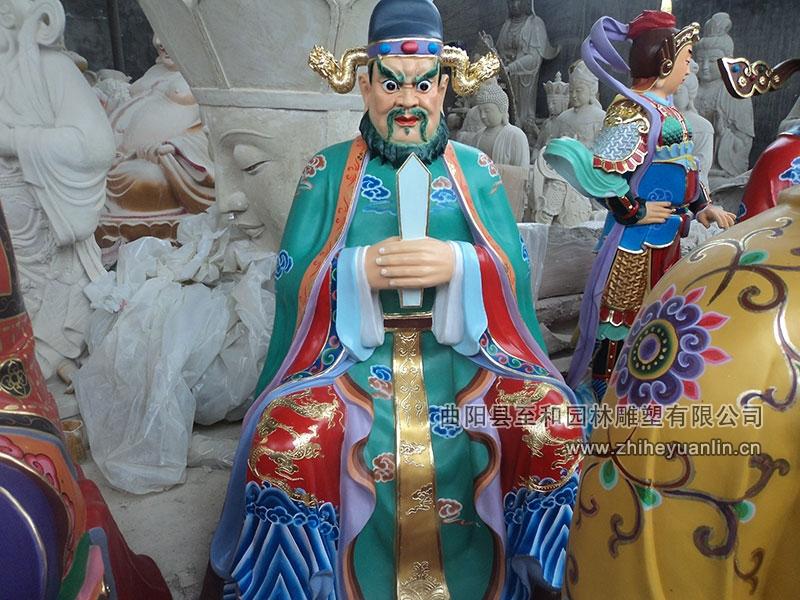 山西朔州-鴻福寺-玻璃鋼雕塑-工程-1004