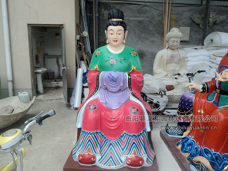 山西朔州-鴻福寺-玻璃鋼雕塑-工程-1006
