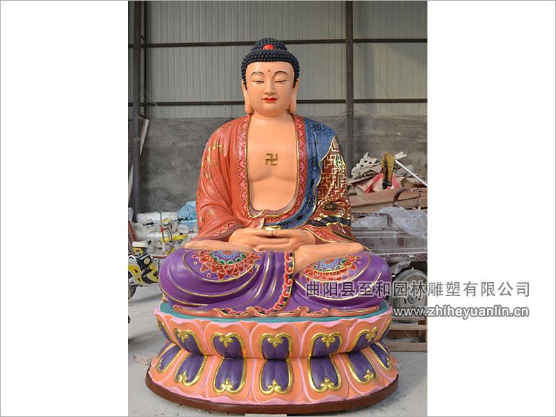 山西朔州-鴻福寺-玻璃鋼雕塑-工程-1010