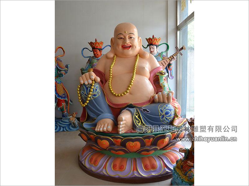 山西朔州-鴻福寺-玻璃鋼雕塑-工程-1011