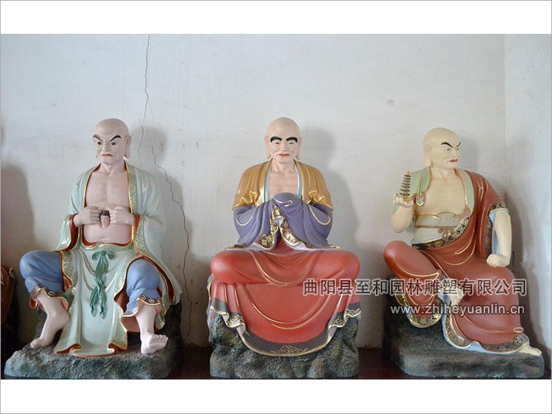 山西朔州-鸿福寺-玻璃钢雕塑-工程-1012