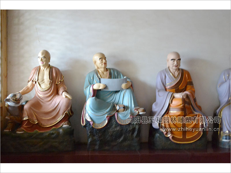 山西朔州-鸿福寺-玻璃钢雕塑-工程-1014